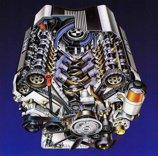 Engine in focus BMW M60/M62 V8