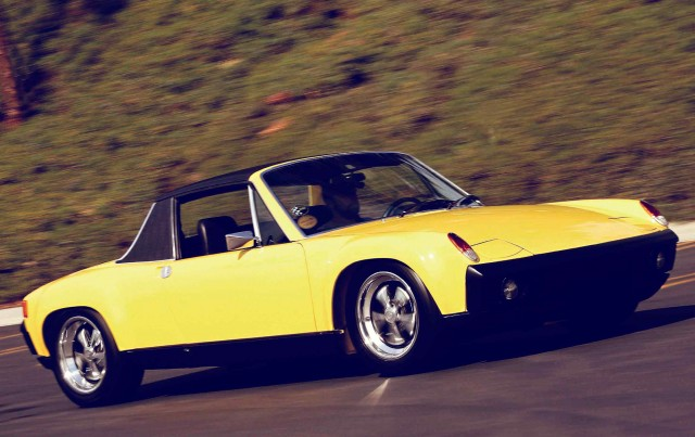 The other Outlaw 3.0-litre flat-six engine Porsche 914/6