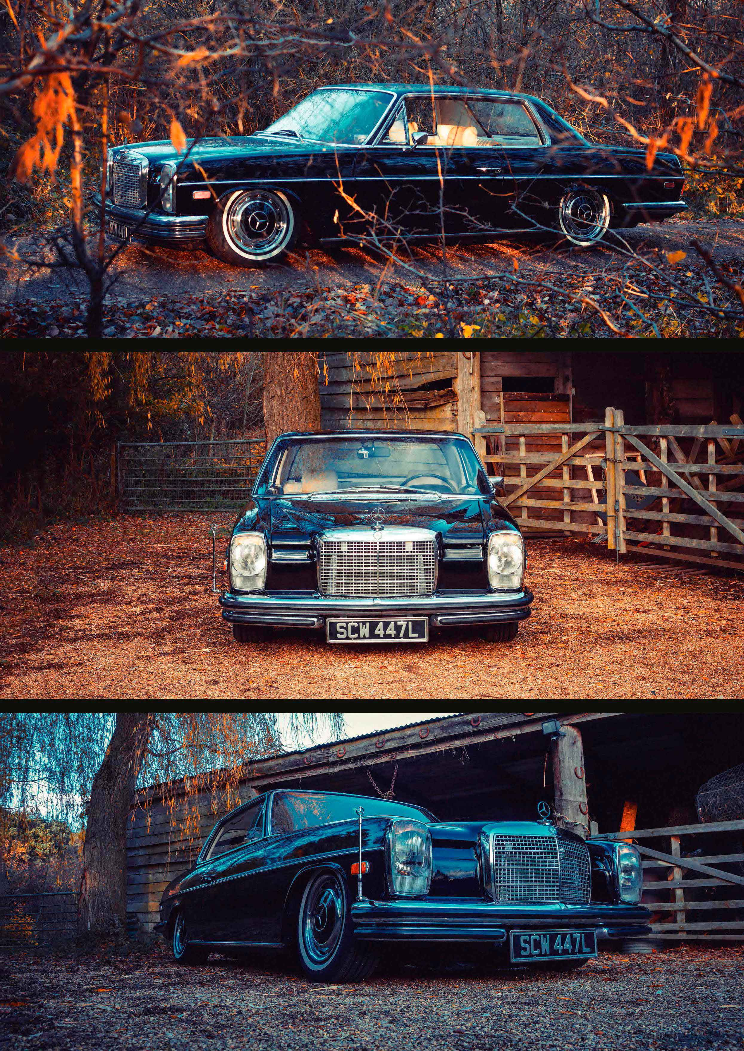Tuned 1973 Mercedes-Benz 280CE W114/C114 Turbo Diesel OM606 engined
