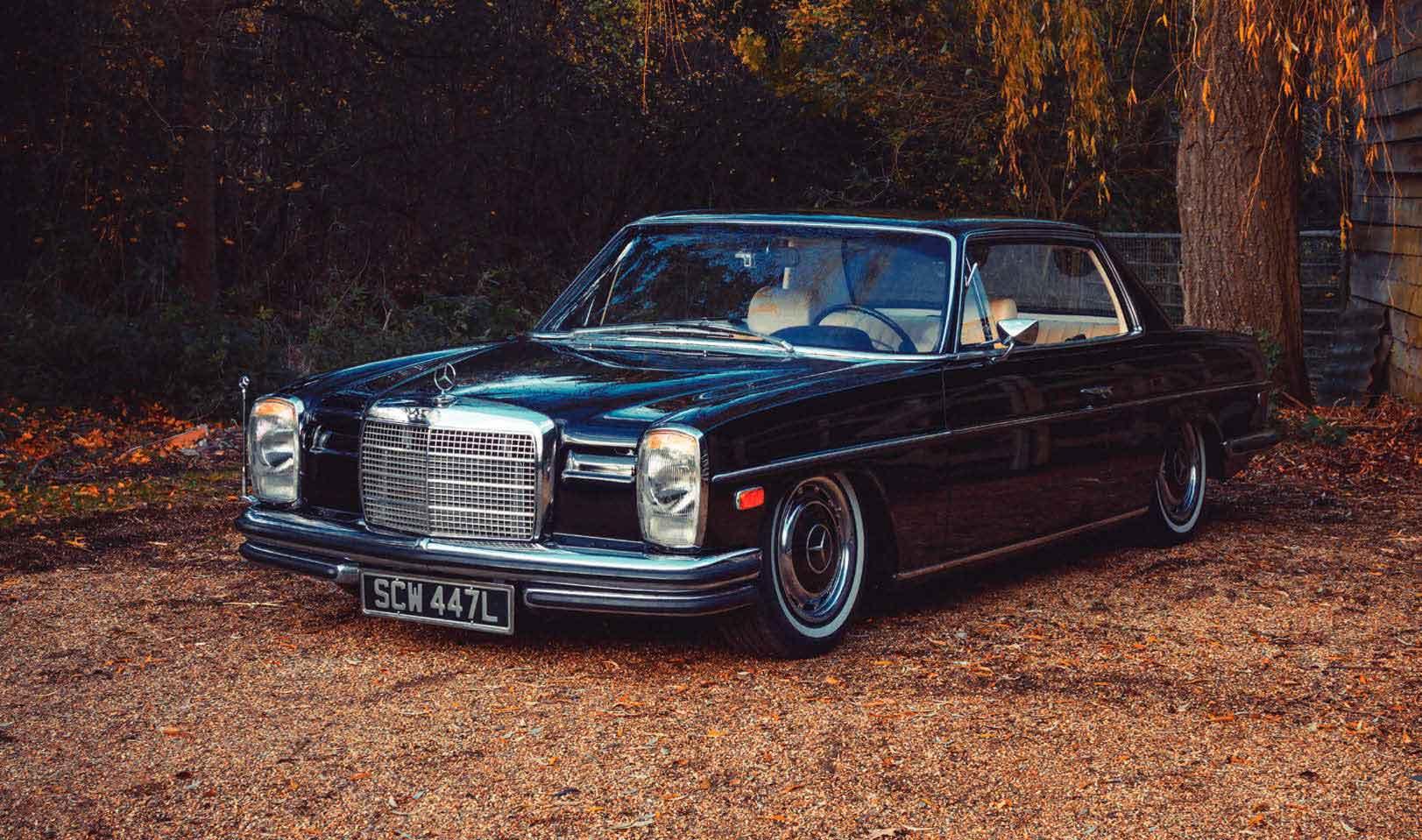 Tuned 1973 Mercedes-Benz 280CE W114/C114 Turbo Diesel OM606