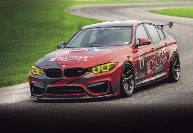 550hp track car BMW M3 F80