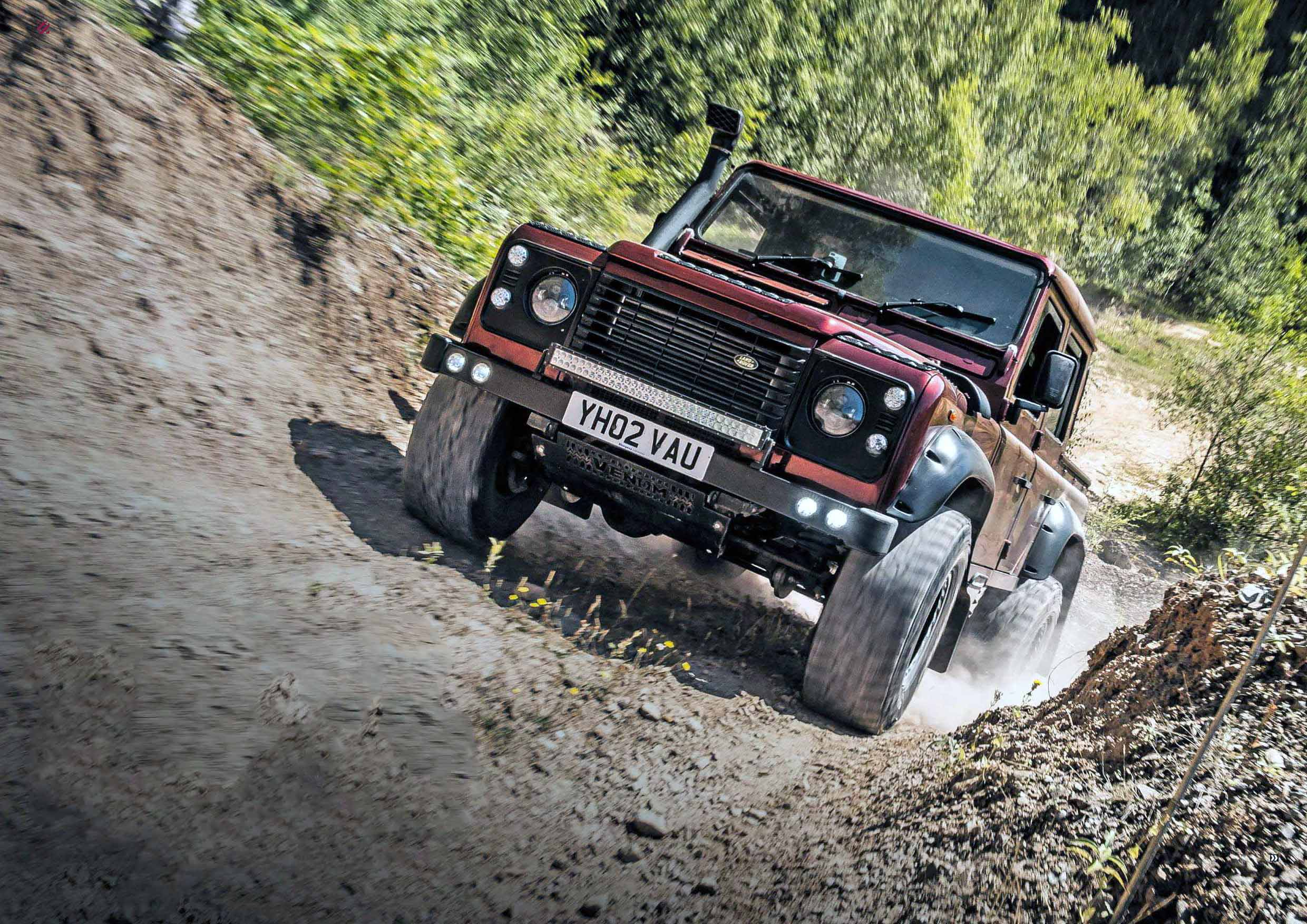 Modified 2002 Land Rover Defender 110 Double Cab