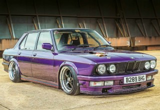 Tuned BMW M535i E28 M30B35 Turbo-engined 550bhp