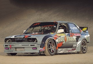 940whp M50B25 turbo drift BMW E30 Coupe
