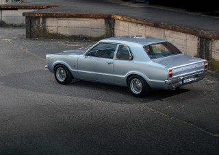 Stanced 1975 Ford Taunus 1300L TC 2-litre Pinto engined