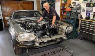 The unlikely rally cat - Ed Abbott used to build racing Saabs but loves the Jaguar XJ-S