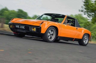 Wide-arched swapped 3.0-litre flat-six 1974 Porsche 914