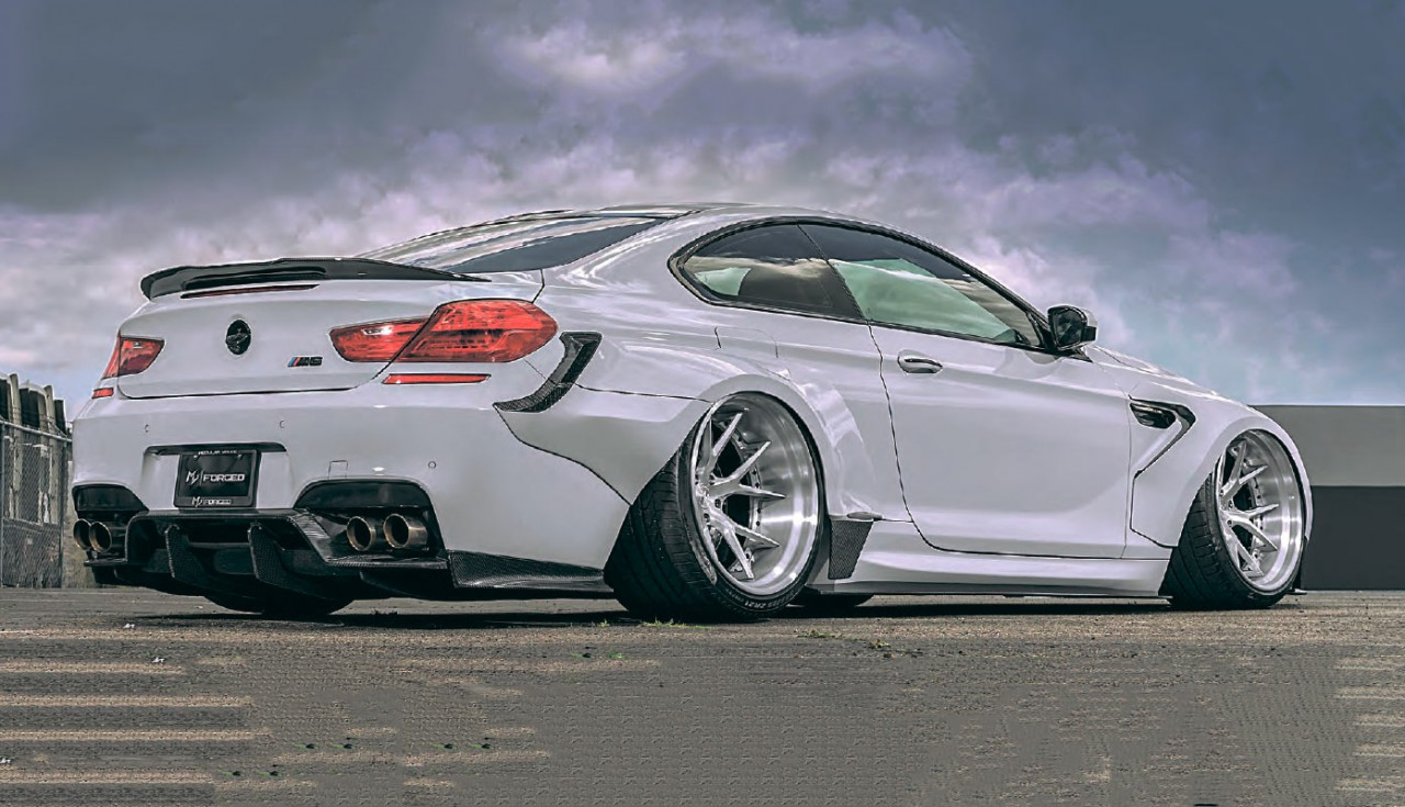 Wide Body Tuned 900bhp Bmw M6 F13 And Air Lift 3h