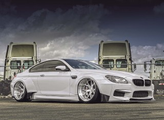 Wide-Body tuned 900bhp BMW M6 F13 and Air Lift 3H suspension