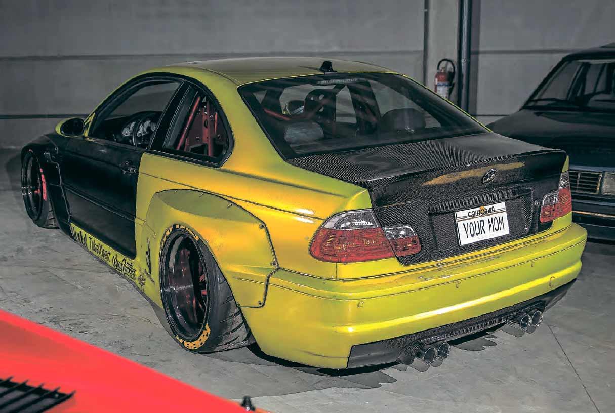 Carbon-clad wide-body BMW M3 E46 KEAN Suspensions - Drive-My Blogs