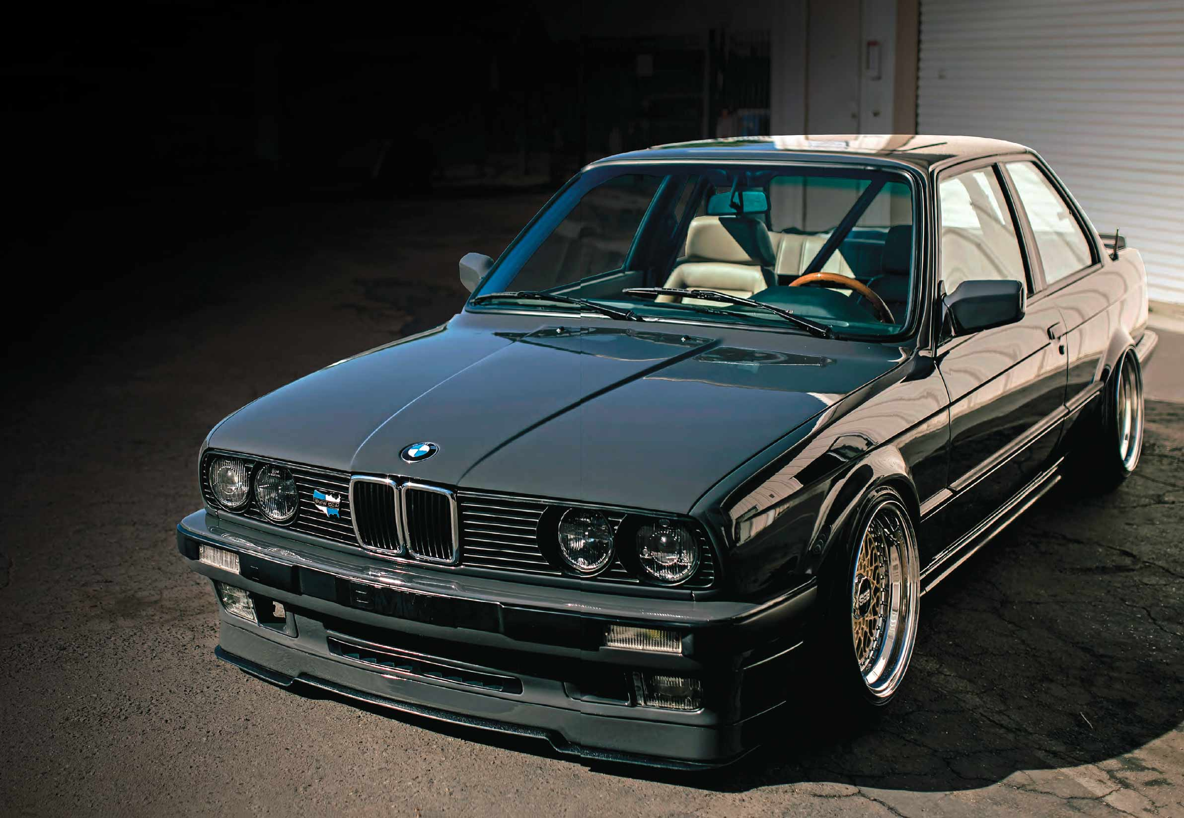 S50-swapped rebuilt with CP-Carrillo forged pistons BMW E30
