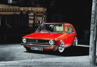 Resto-mod Volkswagen Golf Mk1 PD130 engined