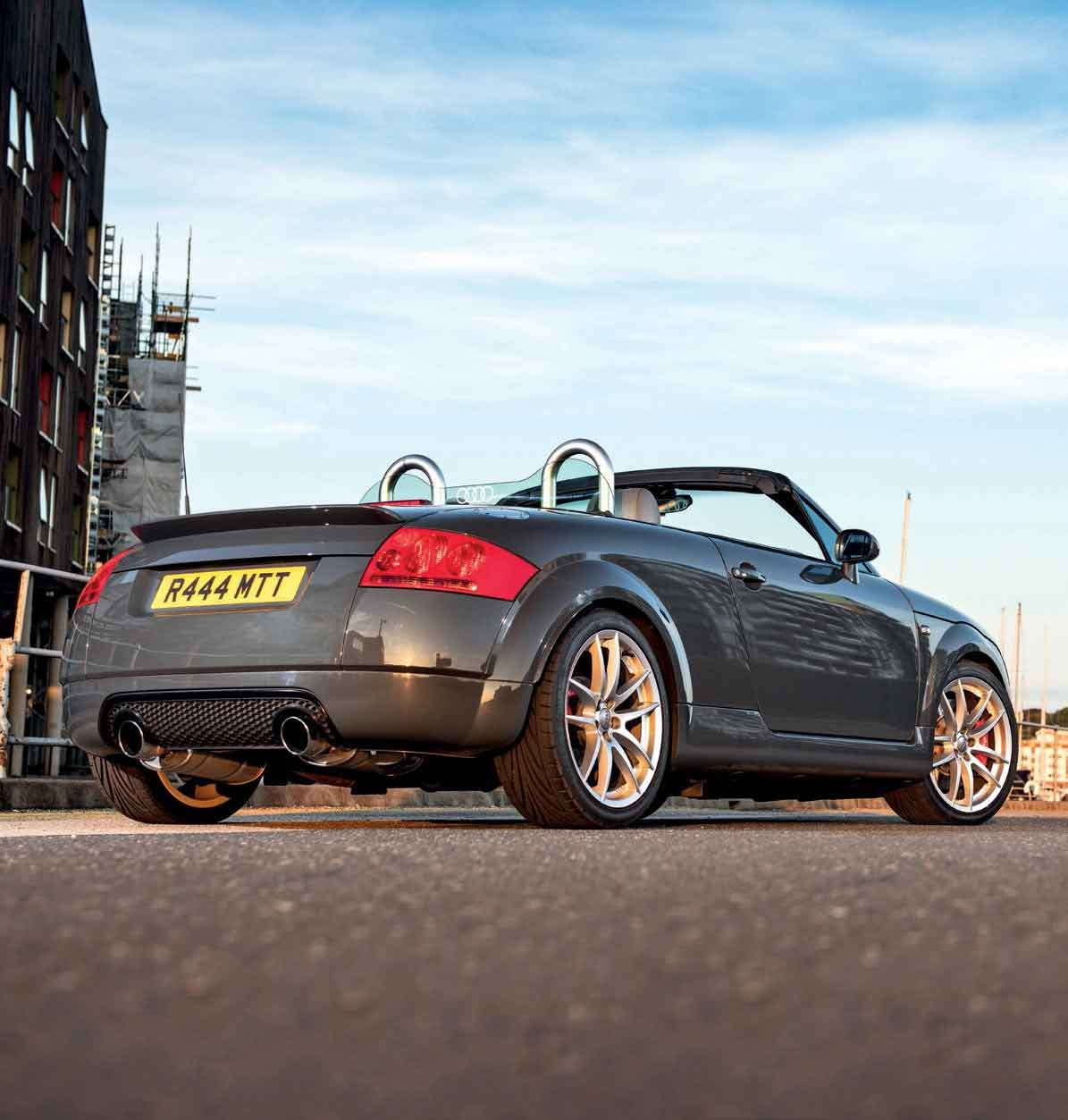 280hp Tuned Audi Tt 18t Roadster 8n 20v Bam Turbocharged Engined