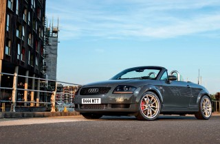 280hp tuned Audi TT 1.8T Roadster 8N 20v BAM turbocharged engined