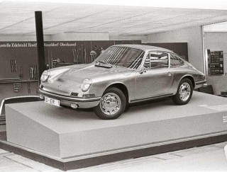 The stainless steel Porsche 911