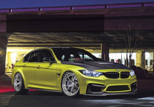 Gorgeous carbon-clad tuned 550bhp BMW M3 F80