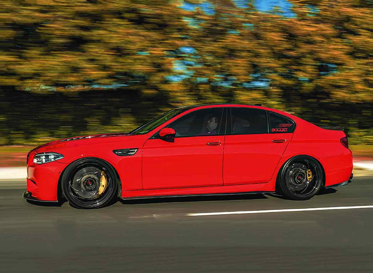 Tuned 620whp Imola Red BMW M5 F10 - Drive-My Blogs - Drive