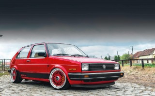 US-spec marvel - 2.8-litre VR6-engined Volkswagen Golf Mk2