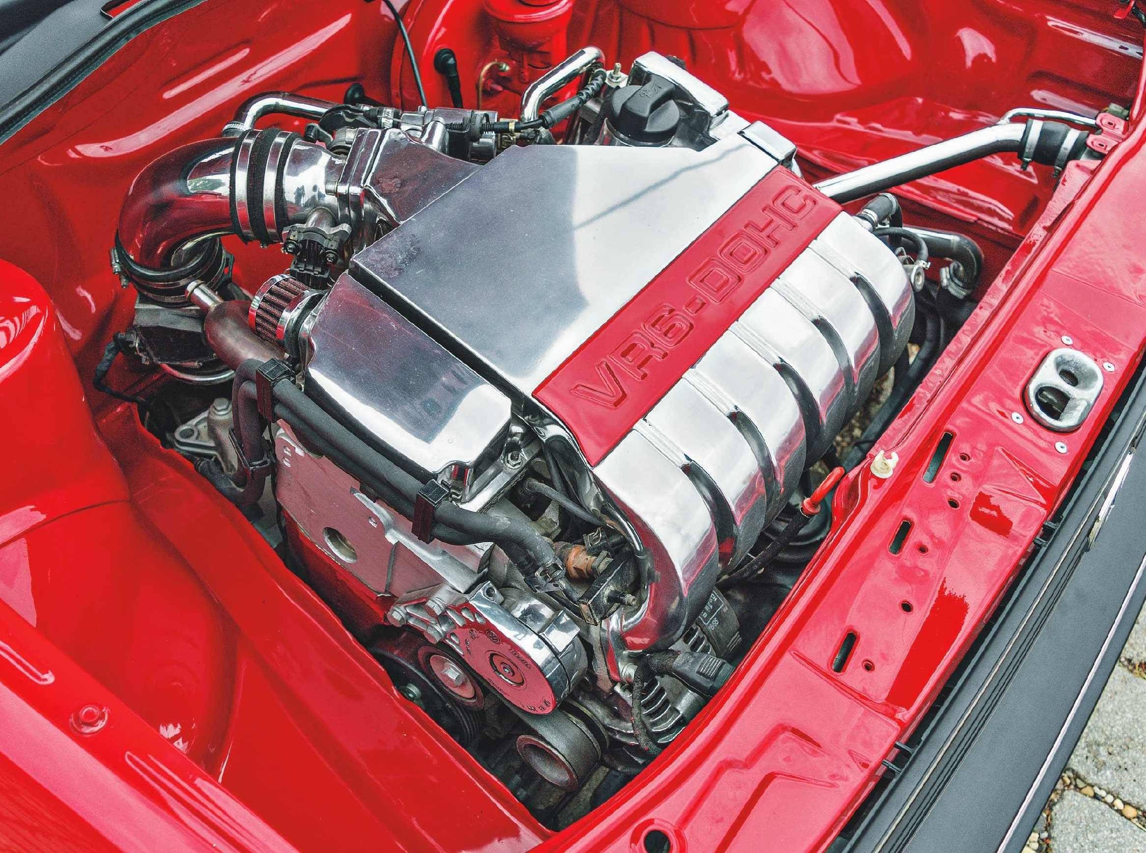 US-spec marvel - 2 8-litre VR6-engined Volkswagen Golf Mk2
