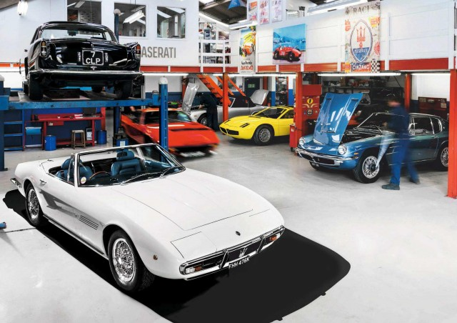 Epic Restoration 1971 Maserati Ghibli SS Spyder Tipo AM115