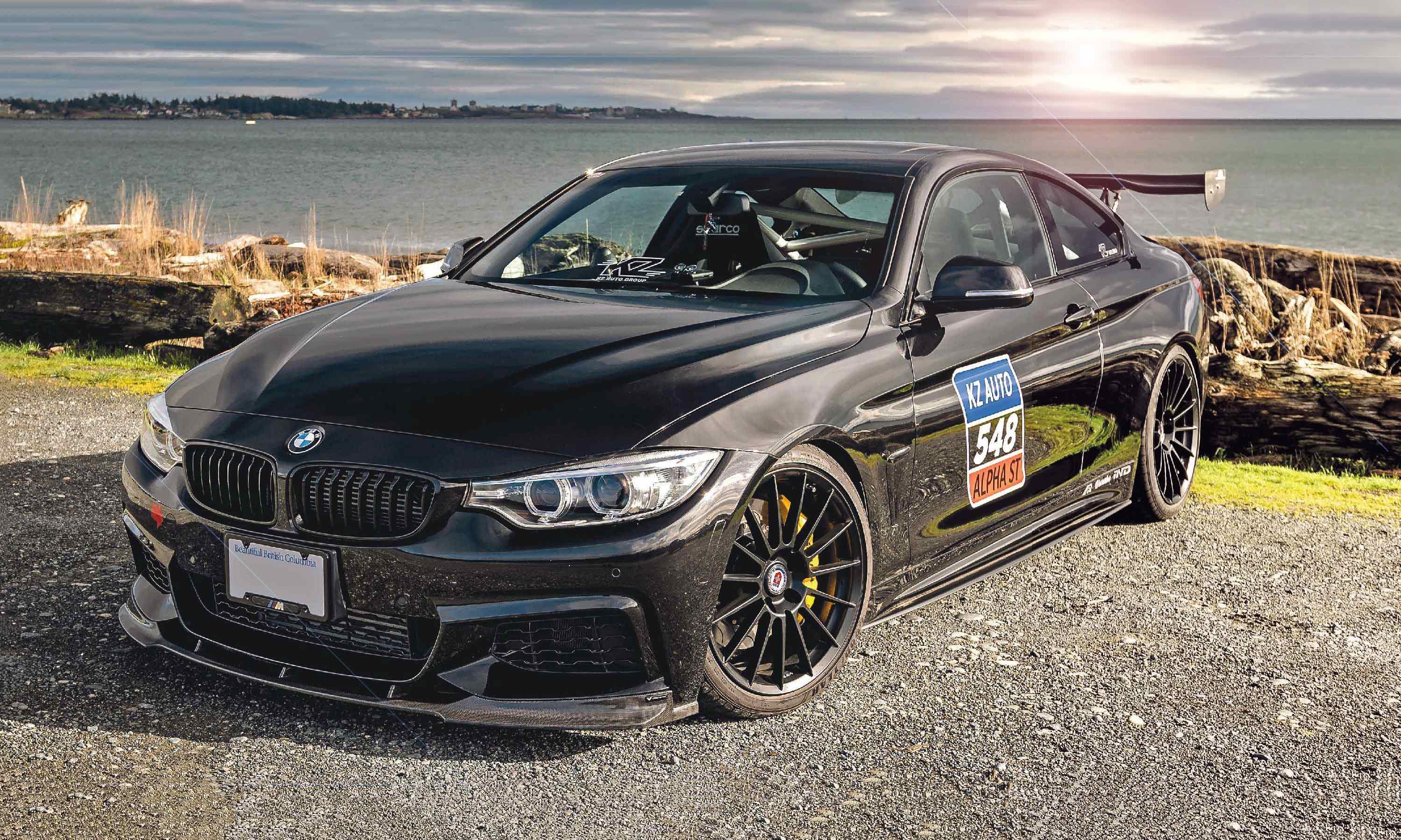Tuned 440hp with Dinan carbon intake 2018 BMW 435i xDrive F32