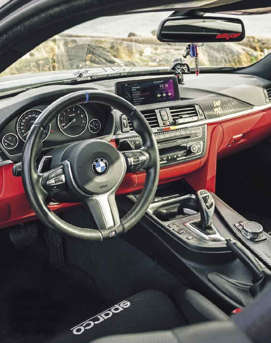 Tuned 440hp with Dinan carbon intake 2018 BMW 435i xDrive