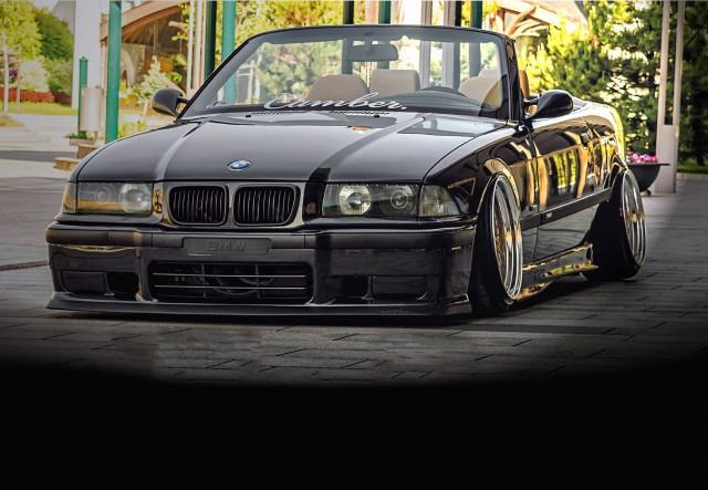 Retro mods and OEM+ styling BMW 328i Cabrio E36