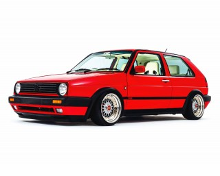 240bhp 1.8T 20vT-engined Volkswagen Golf Mk2