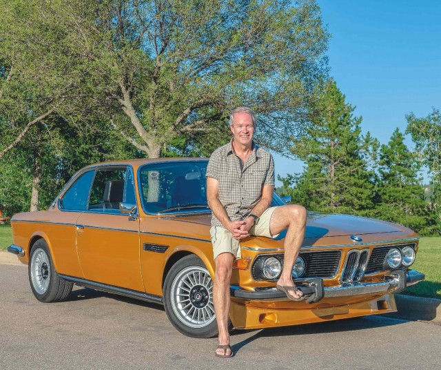 Me and my car Labour of love - Jeffrey Mohler's 1973 BMW 3.0 CSi Coupé E9