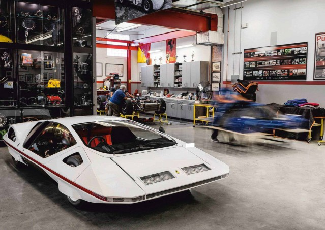 Epic Restoration 1970 Pininfarina Ferrari 512S Modulo