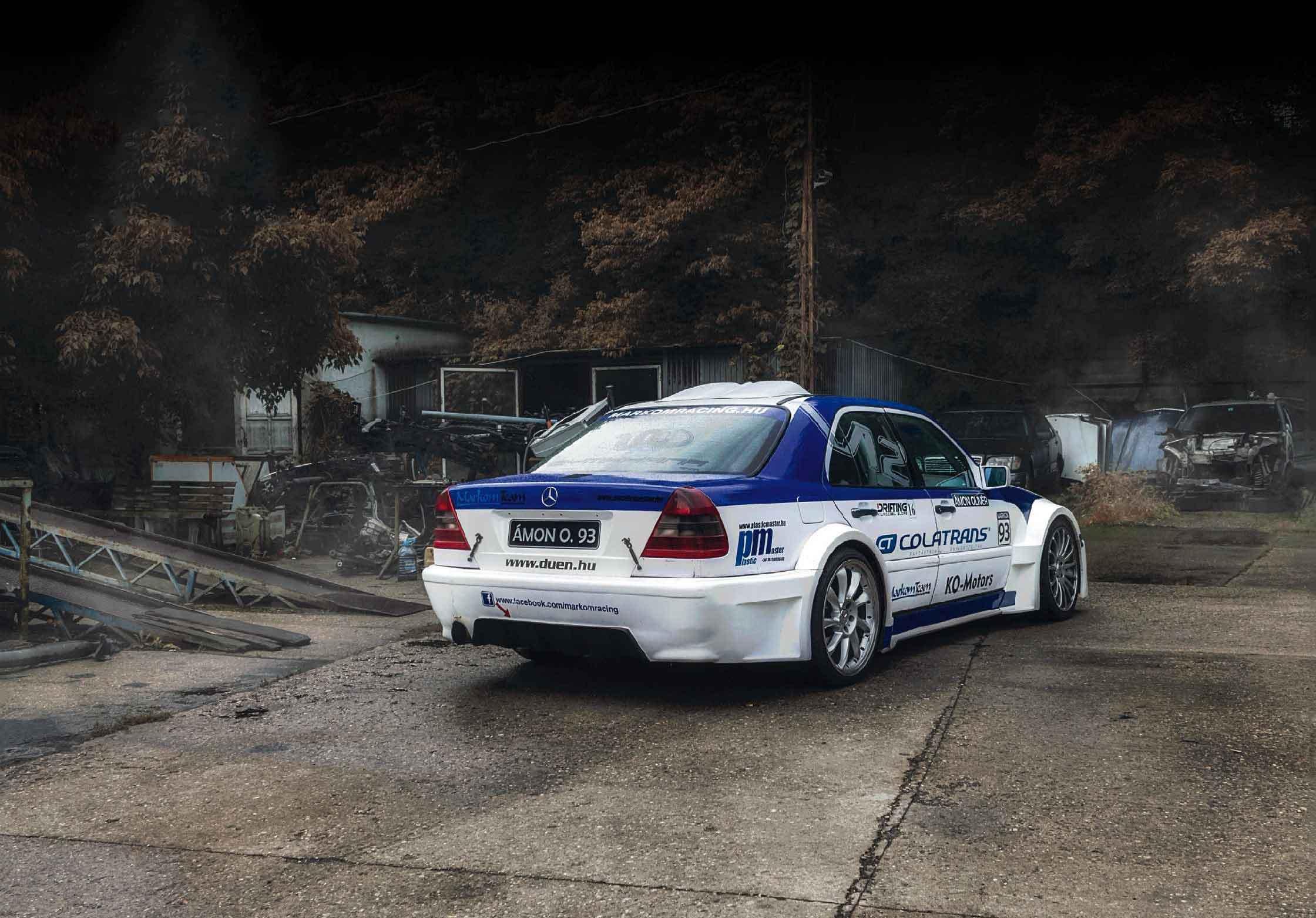 Mercedes-Benz C600 W202 - 6 0-litre M120 V12-engined monster - Drive