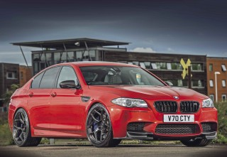 UK's fastest BMW M5 F10 - ultimate 5-Series 1000bhp and 214mph