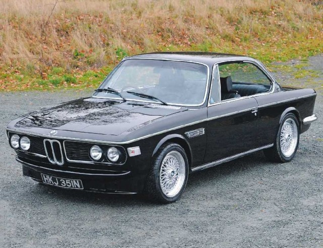 Test UK's only electric BMW E9 Coupé