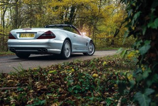 Tim Dunne splashed out on an 2003 Mercedes-Benz SL55 AMG R230 after years spent driving down-to-earth diesels