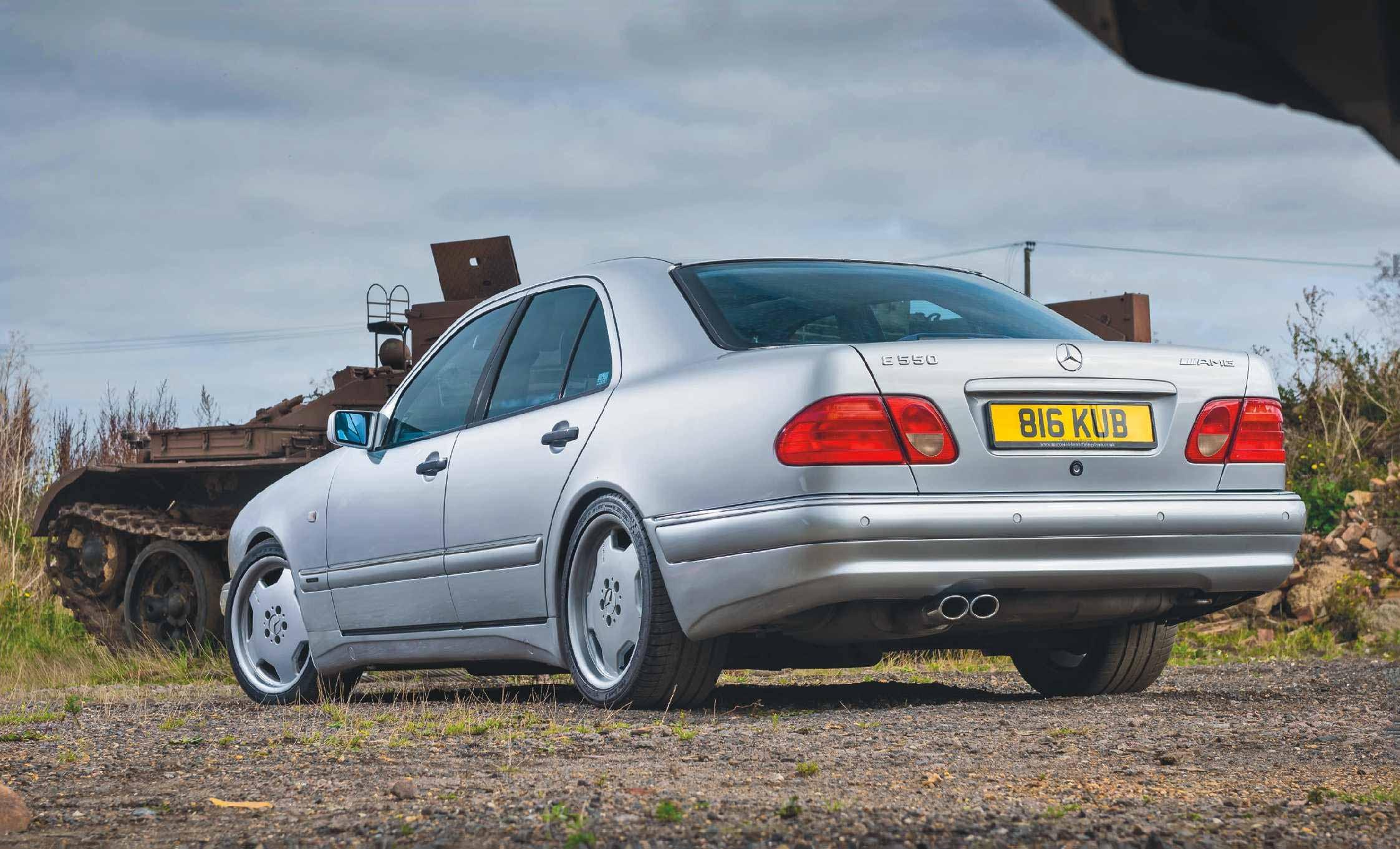 1998 Mercedes-Benz E55 AMG W210 - Drive-My Blogs - Drive