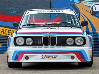 E28-based M20-engined BMW E9 CSL Batmobile replica