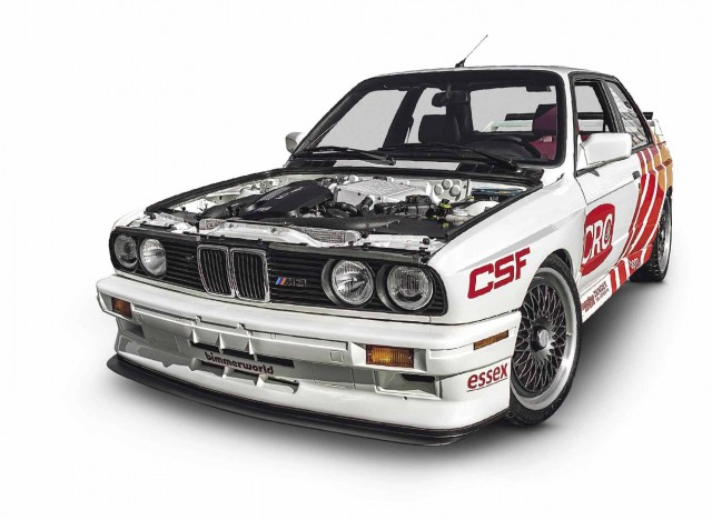 Twin-turbo S55-swapped BMW M3 E30
