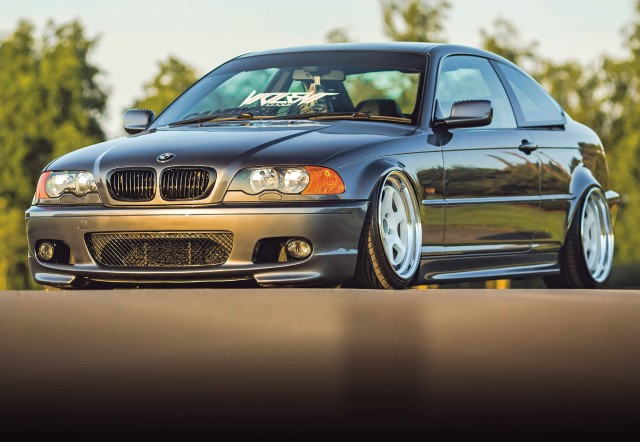 Wide-arch BMW 330Ci E46