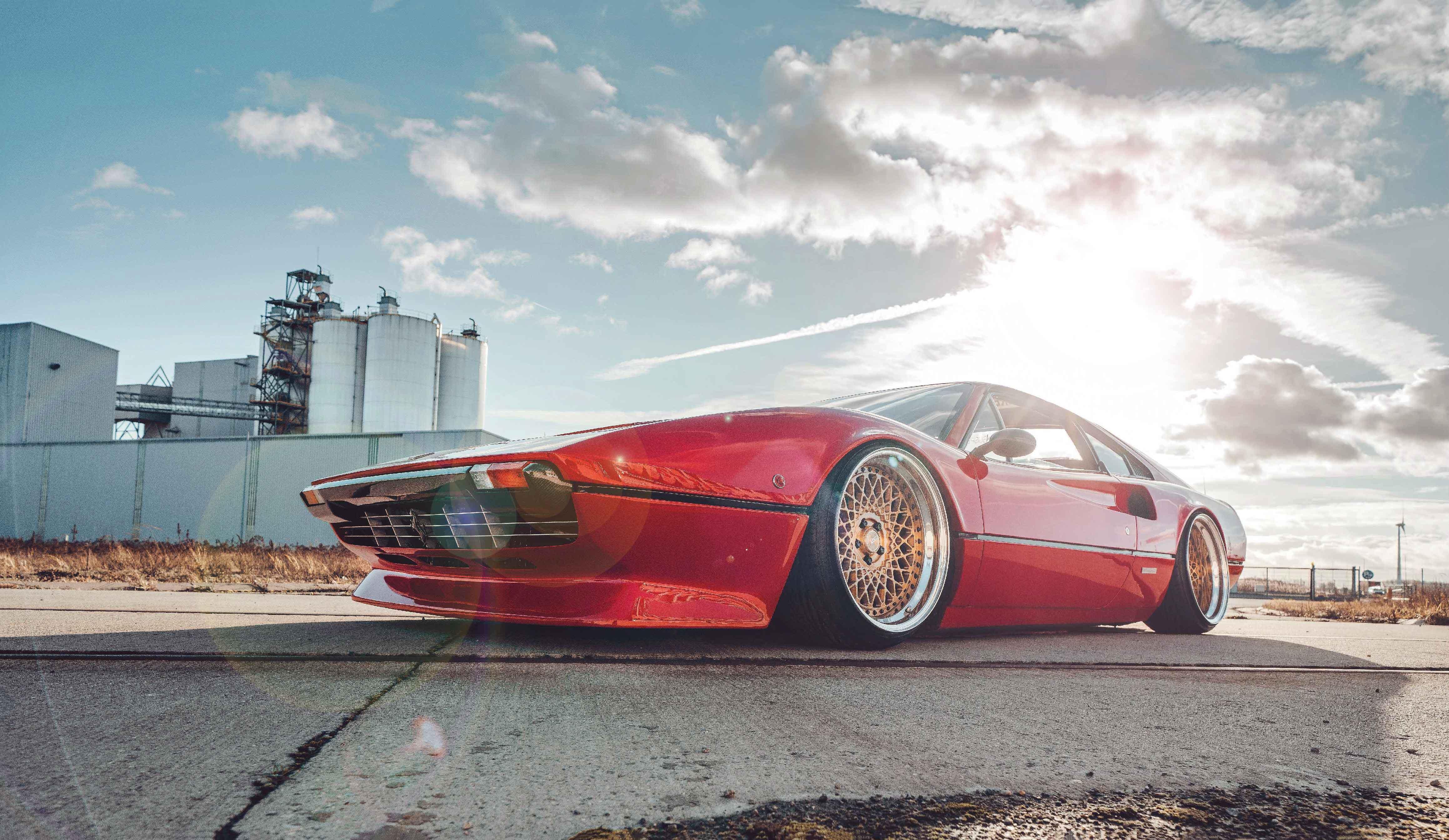 Fully Rebuilt Accuair E Level 1980 Ferrari 308 Gtb Drive My Blogs