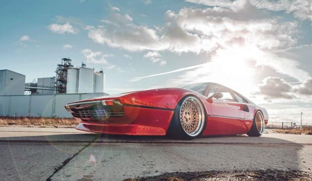 Fully rebuilt Accuair E-level 1980 Ferrari 308 GTB