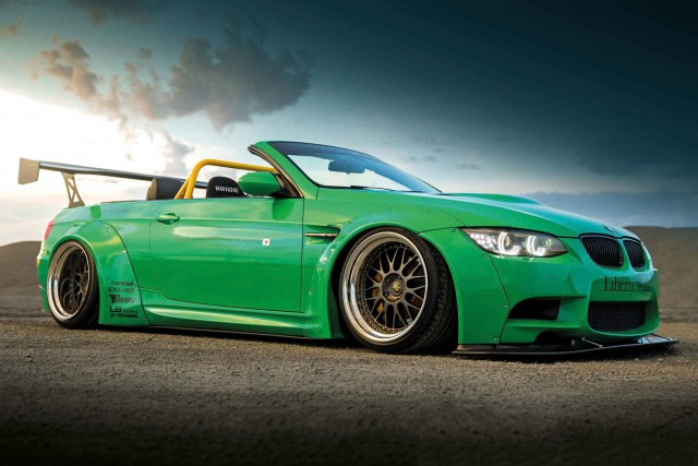 700hp supercharged, wide-body BMW M3 E93