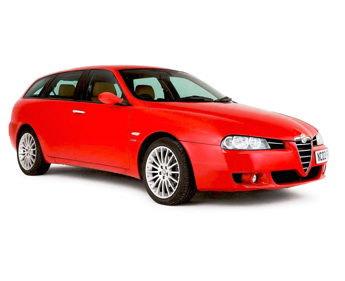 2005 Alfa Romeo 156 V6 Sportwagon Q-System - We import a ...