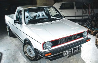 VR6-powered Volkswagen Caddy Mk1