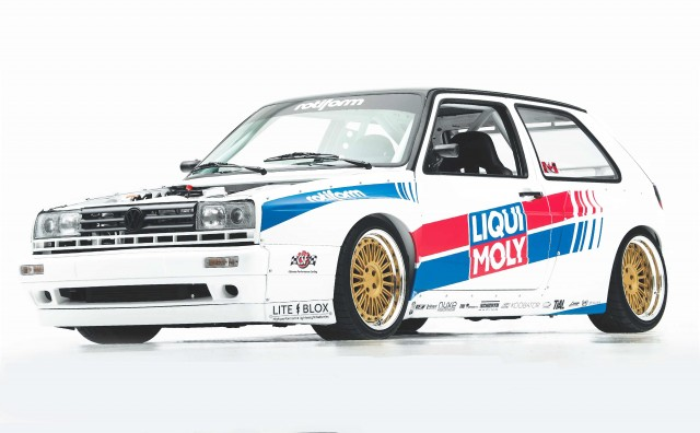 650WHP R32T 3.2-litre VR6-engined Turbocharged Volkswagen Golf Mk2