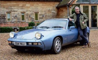Giles English loves his super-reliable daily-driven 1986 Porsche 928 S2