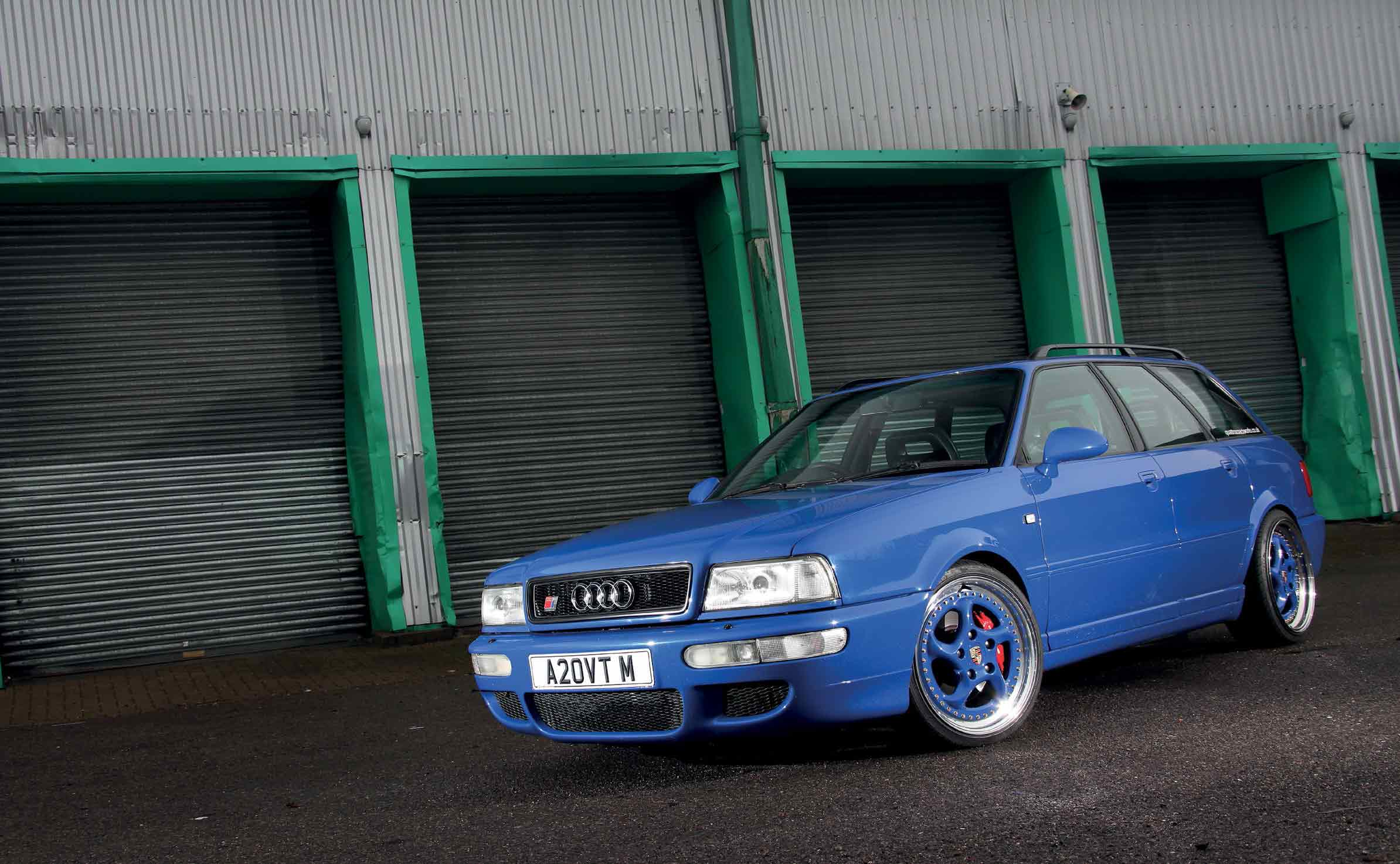 Tuned 390bhp rebuilt-engine 1994 Audi RS2 Avant 8C / Typ ...