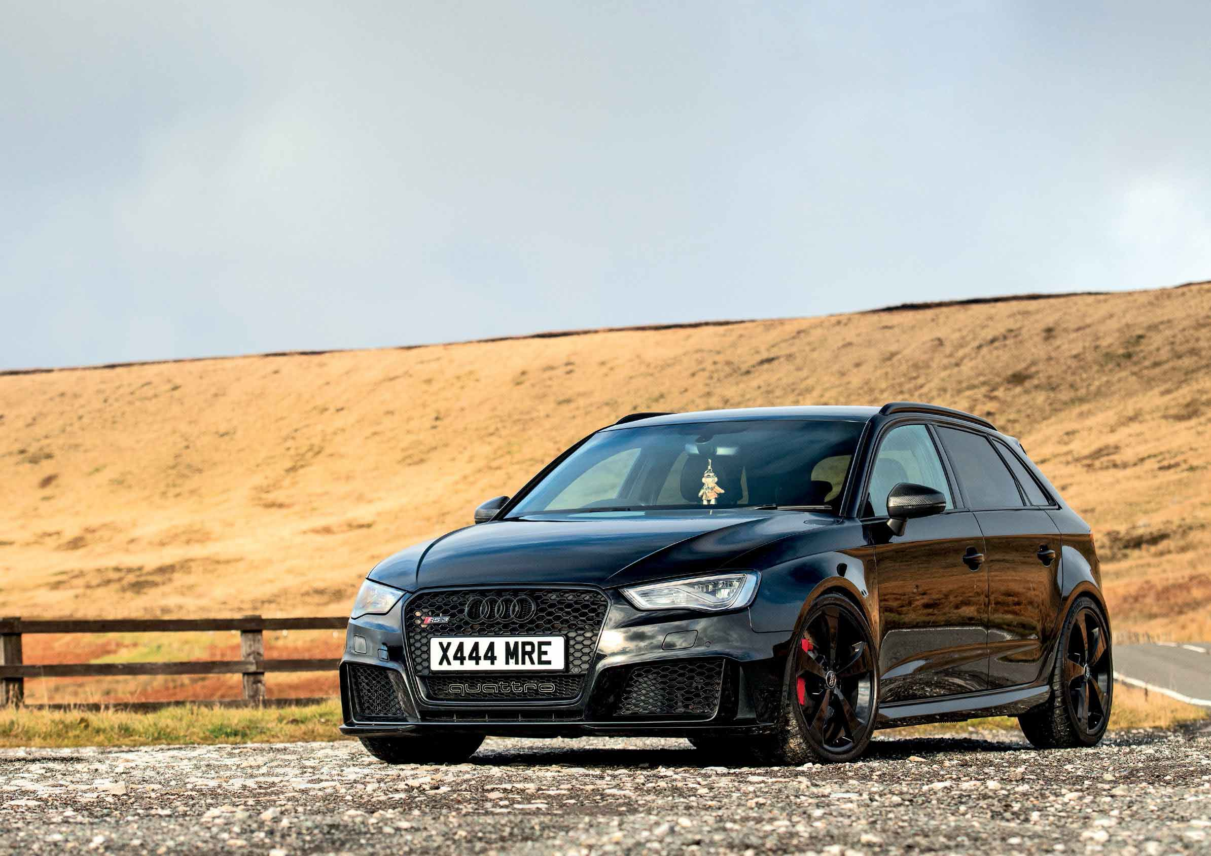 Apr Stage 1 Ecu Tune 470bhp Audi Rs3 Quattro Black Edition 8v