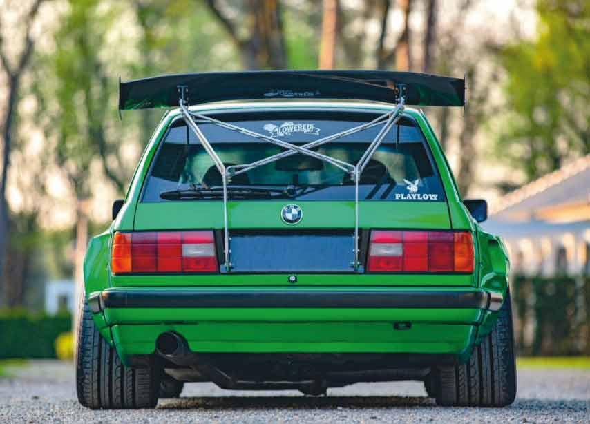 Rocket Bunny M50B25-swap BMW E30 Touring gets the Pandem