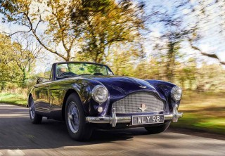 Jean Moss has owned her 1959 Aston Martin DB 2/4 Mark III Spider since the '70s