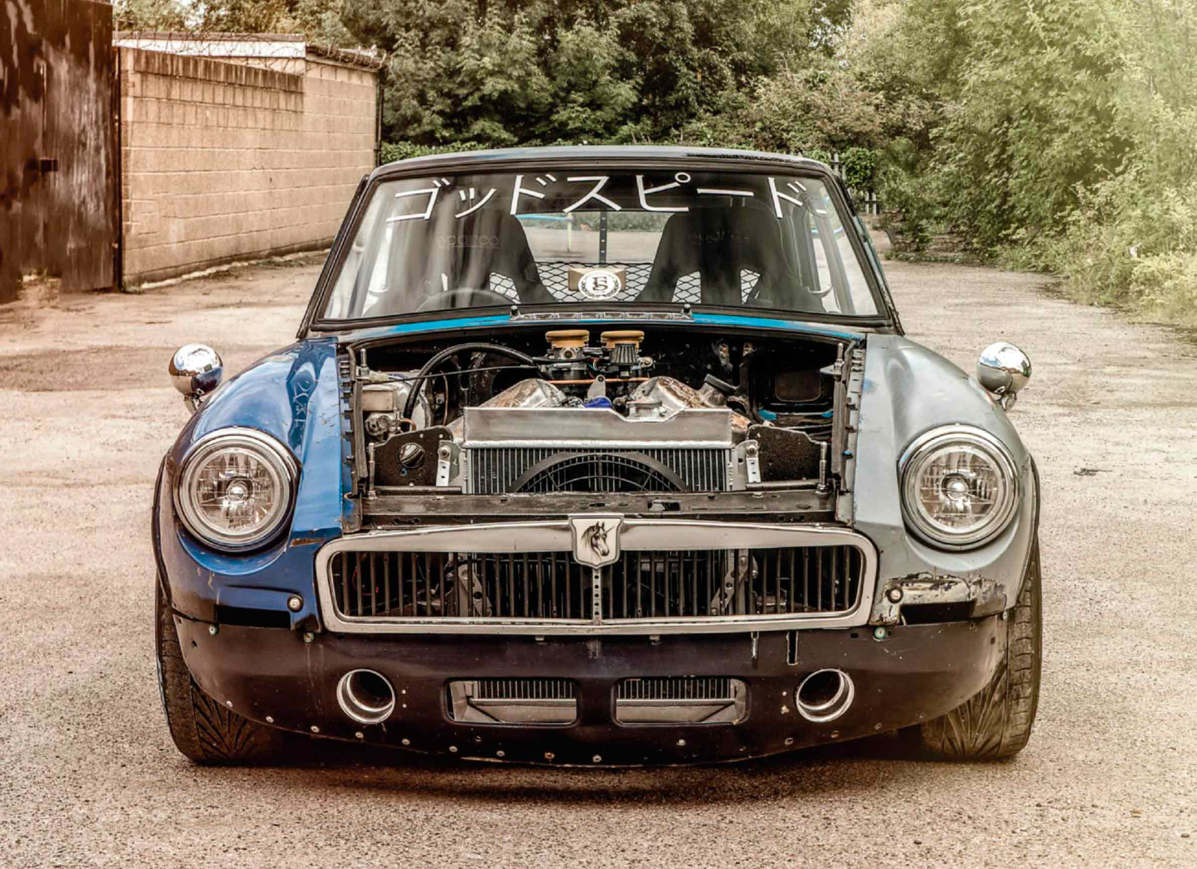 300bhp Jaguar AJ30 3 0-litre V6-engined MGB - Drive-My Blogs